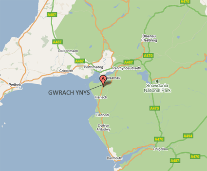 Directions To Bb Gwrach Ynys Snowdonia Bed Breakfast